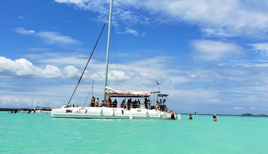 Saona Island catamaran tour from Punta Cana