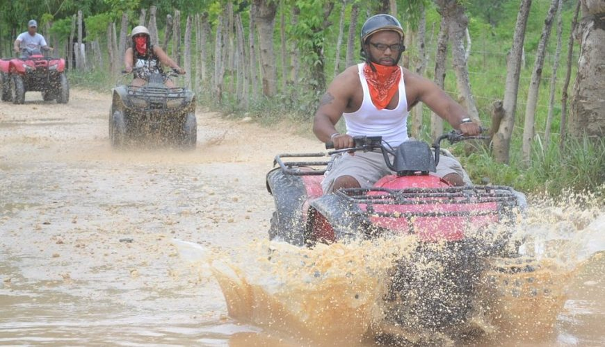 ATV 4 Wheeler Solo Adventure from Punta Cana