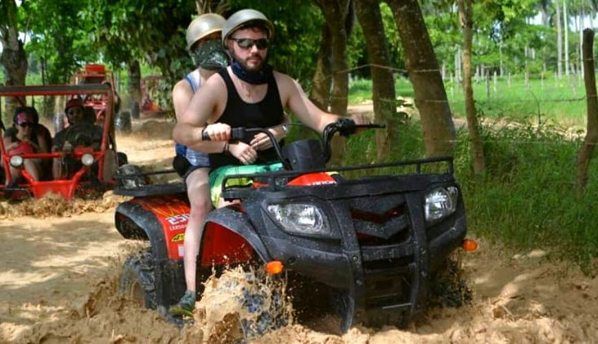 ATV Four Wheeler excursion from Punta Cana