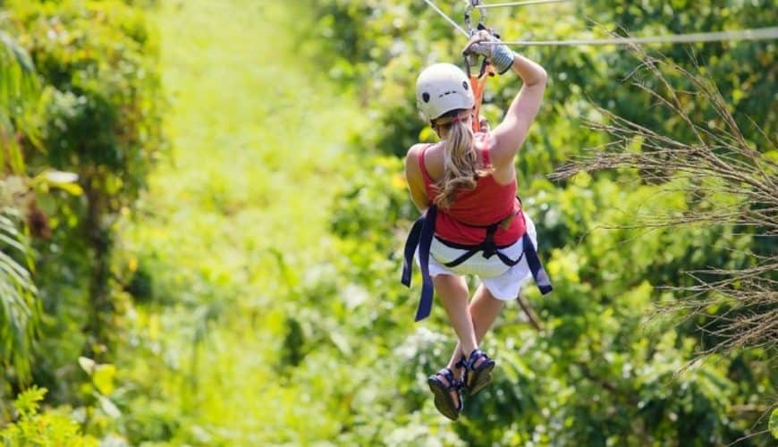 Canopy Adventure Zip Line Excursion from Punta Cana