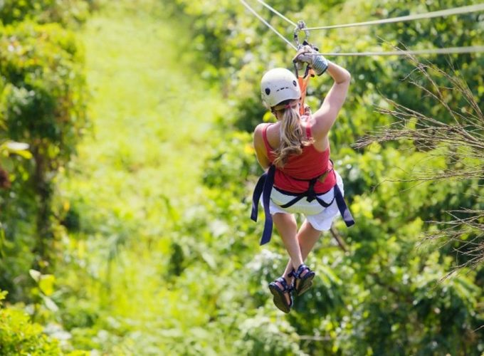 Canopy Zip line excursion in Punta Cana