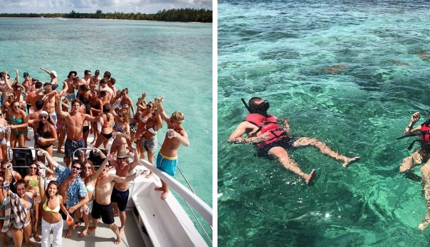 Catamaran Party Boat & Snorkeling from Punta Cana