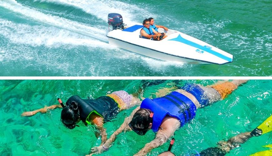Speedboat and Snorkeling Excursion Punta Cana