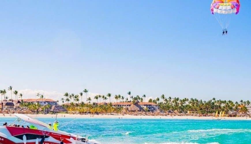 Parasailing from Punta Cana