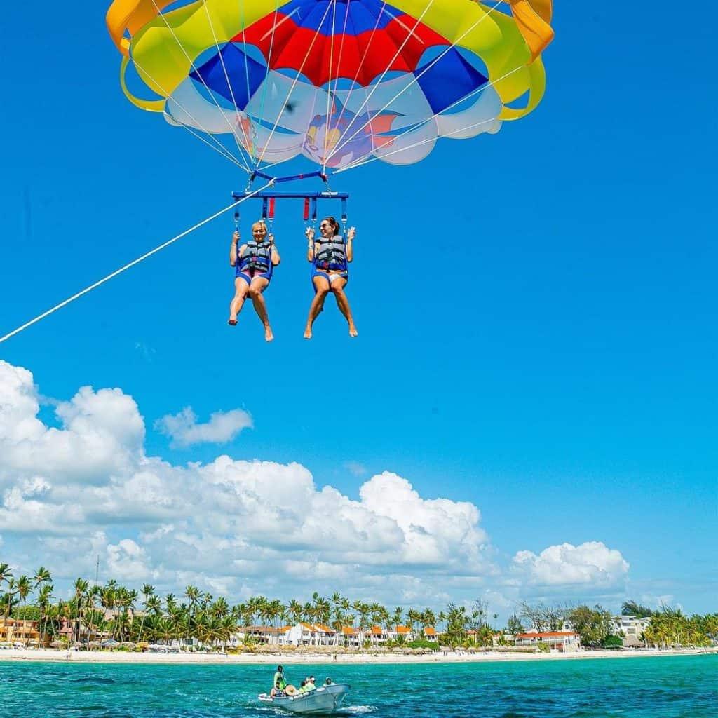 Parasailing in Punta Cana in Punta Cana