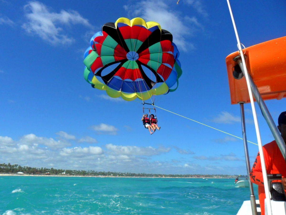 Parasailing tour in Punta Cana