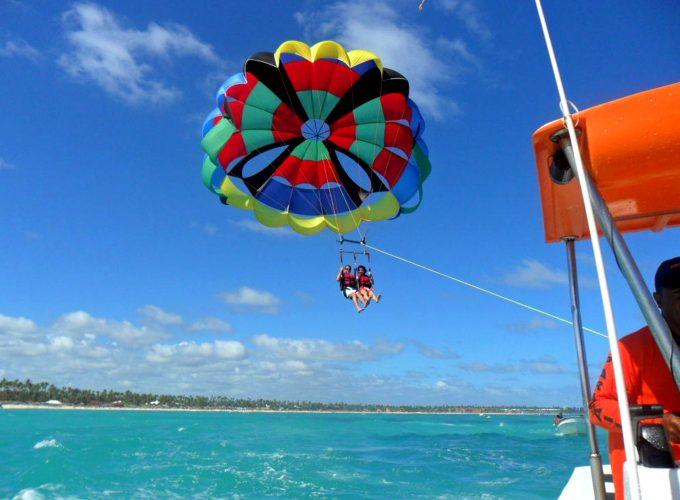 Parasailing excursion in Punta Cana