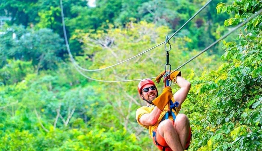 Zip Lines Adventure in Punta Cana