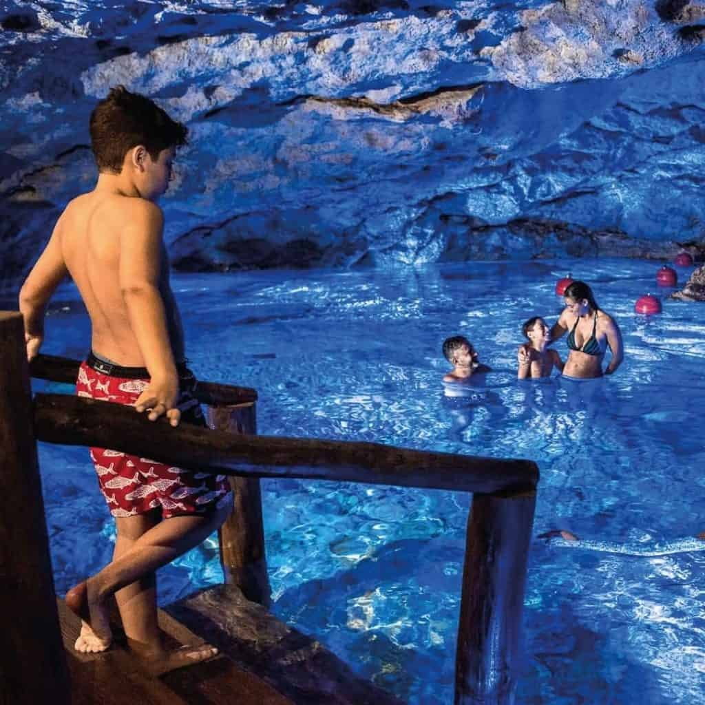 Cave swim at Scape Park in Punta Cana
