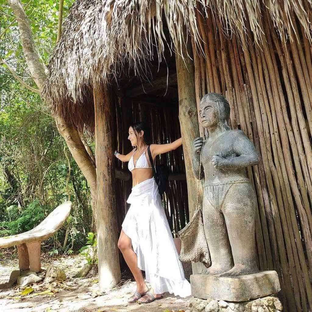 Cultural Route at Scape Park in Punta Cana - taino