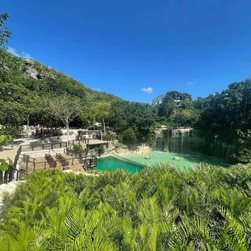 Saltos Azules at Scape Park in Punta Cana -