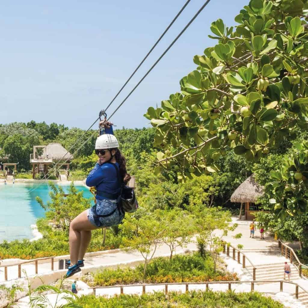 Zip line tour at Scape Park in Punta Cana -
