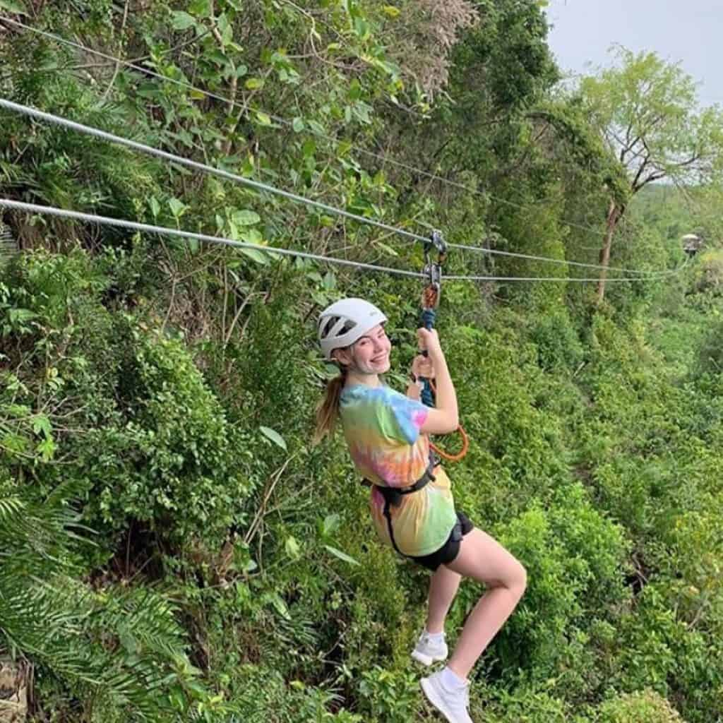 Zip lines tour at Scape Park in Punta Cana -